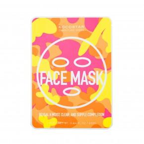Camouflage Face Mask Drėkinanti veido kaukė