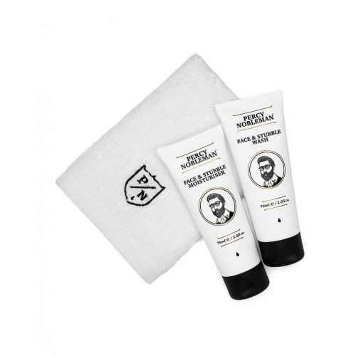 Percy Nobleman Face & Stubble Care Kit Veido ir barzdos priežiūros rinkinys