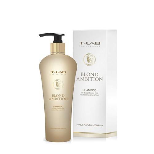 T-LAB Professional Blond Ambition Shampoo Šampūnas šviesiems plaukams 250ml