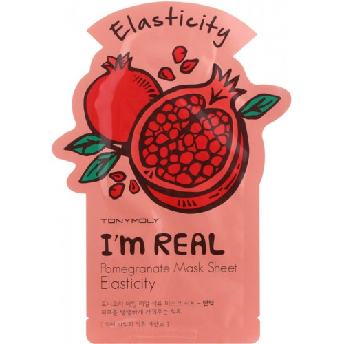 TONYMOLY I m Real Pomegranate Mask Sheet Stangrinanti veido kaukė 21ml