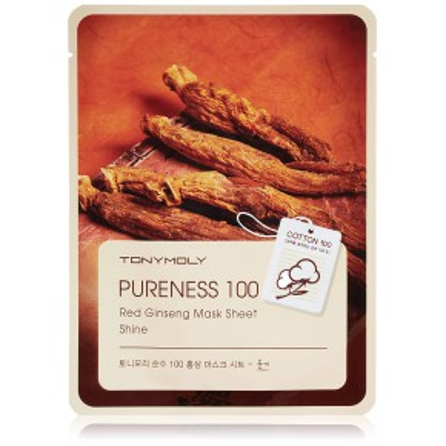 Pureness 100 Red Ginseng Mask Veido kaukė su ženšeniu