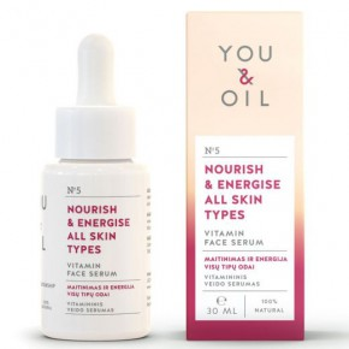 Nourish & Energise All Skins Types Vitamin Face Serum Vitamininis veido serumas
