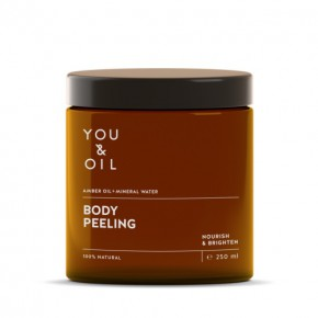You&Oil Amber Oil + Mineral Water Body Peeling 250ml