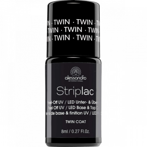 Alessandro Striplac Base & Top Twin Coat Bazė ir topas viename 8ml