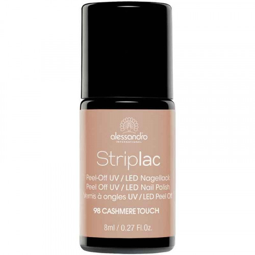 Alessandro Striplac Peel Off UV/LED Nail Polish Nagų lakas 8ml