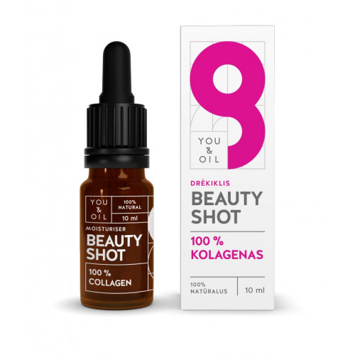 You&Oil Beauty Shot Moisturizer 100% COLLAGEN KOLAGENAS veidui / DRĖKIKLIS 10ml