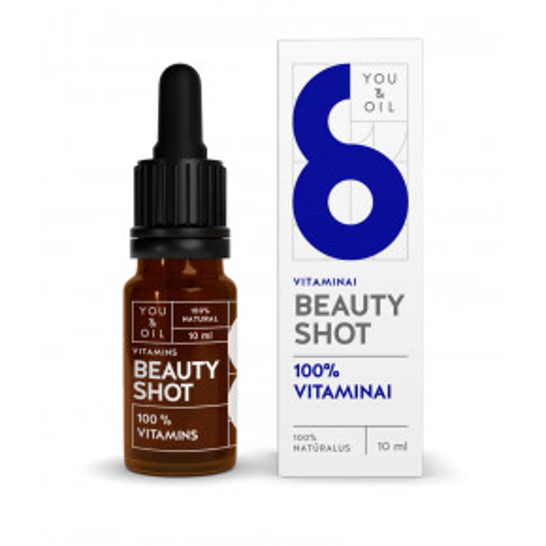 Beauty Shot Moisturizer 100% VITAMINS veidui /VITAMINAS