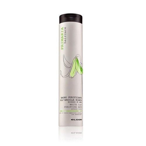 Elgon White Clay Purifying Bath Šampūnas su baltuoju moliu riebiems plaukams 250ml