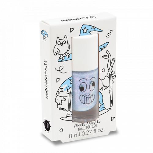 Nailmatic Kids Merlin Shimmer Nail Polish Nagų lakas vandens pagrindu 8ml