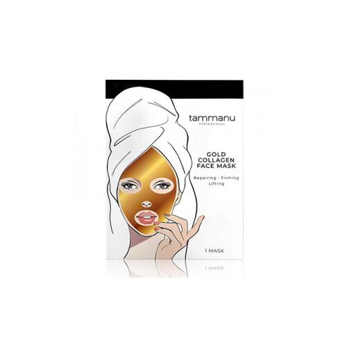 Tammanu Gold Collagen Face Mask Veido kaukė su auksu ir kolagenu 1 vnt.