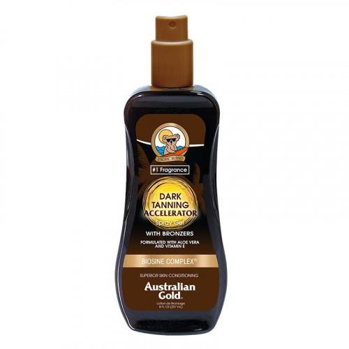 Australian Gold Tanning Accelerator Spray Gel Įdegį Skatinantis Purškiamas Pienelis su Bronzantais 237ml