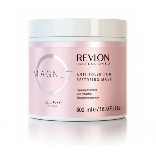 Revlon Professional Magnet Anti-Pollution Restoring Mask Nuo aplinkos taršos apsauganti ir plaukus atstatanti kaukė 200ml