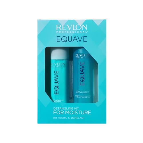 Revlon Professional Equave Detangling Kit For Moisture Drėkinantis rinkinys plaukams 250ml+200ml