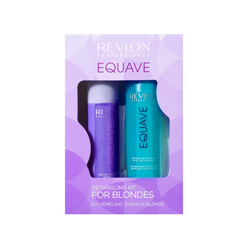 Revlon Professional Equave Detangling Kit For Blondes Šviesiaplaukių rinkinys plaukams 250+200ml