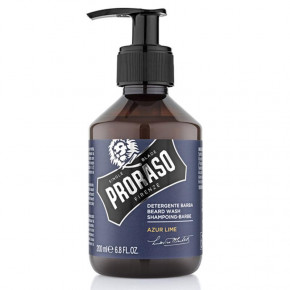 Azur Lime Beard Wash Barzdos šampūnas
