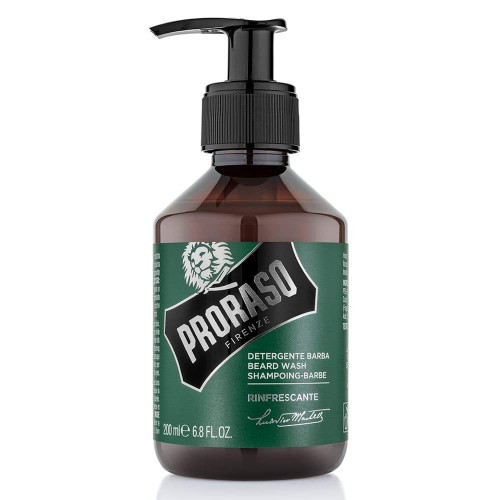 Proraso Refreshing Beard Wash Barzdos šampūnas 200ml
