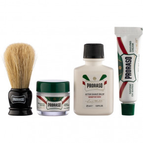 Travel Shaving Kit Kelioninis skutimosi rinkinys