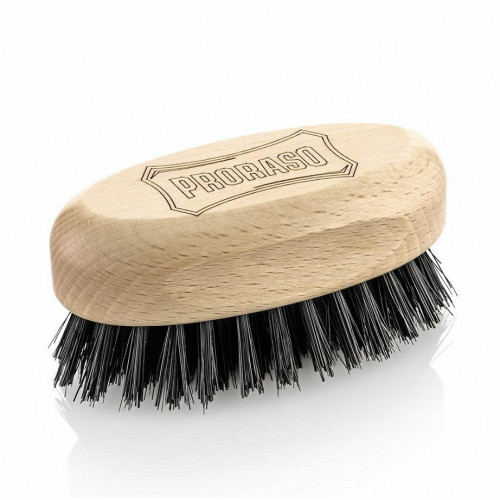 Proraso Old Style Military Moustache Brush Senojo karinio stiliaus šepetys ūsams 1 vnt.