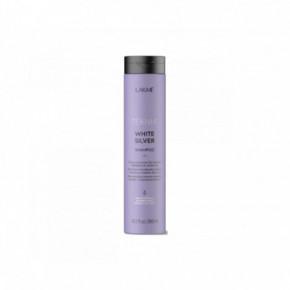 Lakme White Silver Geltonumą neutralizuojantis šampūnas 300ml