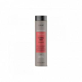 Lakme Coral Red Raudoną spalvą ryškinantis šampūnas 300ml