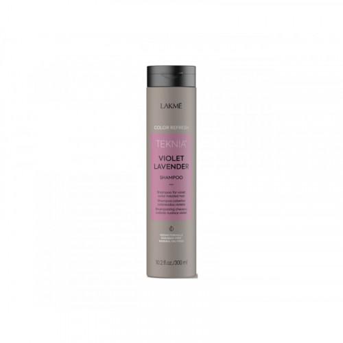 Lakme Violet Lavender Violetinę spalvą ryškinantis šampūnas 300ml