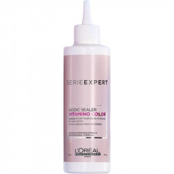 L'Oréal Professionnel Vitamino Color Acidic Sealer Spindesį apsaugantis nuplaunamas losjonas - fiksatorius 210ml