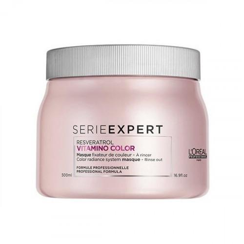 L'Oréal Professionnel Vitamino Color Resveratrol Dažytų plaukų kaukė 250ml