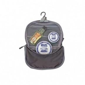 Reuzel Clay Dopp Bag Rinkinys su šampūnu ir pomadomis stipriam ir matiniam formavimui 100ml+113g+35g