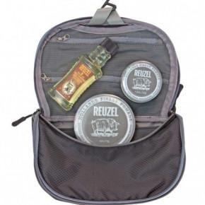 Reuzel Extreme Dopp Bag Rinkinys su šampūnu ir pomadomis ypatingai stipriam ir matiniam formavimui 100ml+113g+35g