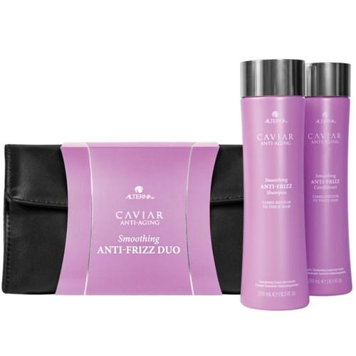 Alterna Caviar Anti-Frizz Holiday Duo Glotninantis plaukus priemonių rinkinys 250ml+250ml