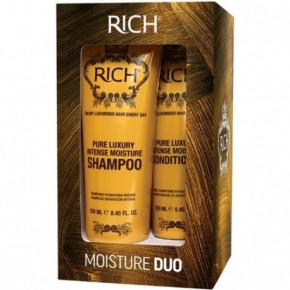 Rich Pure Luxury Moisture Duo Intensyviai drėkinančių priemonių rinkinys 250ml+250ml