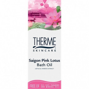 Therme Saigon Pink Lotus Vonios Aliejus 100ml