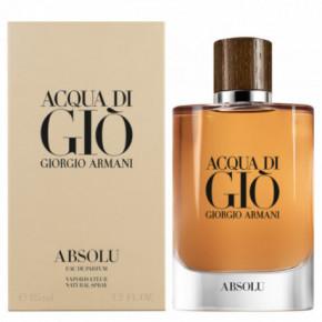 Giorgio Armani Acqua di Gio Absolu Parfumuotas vanduo vyrams 75ml
