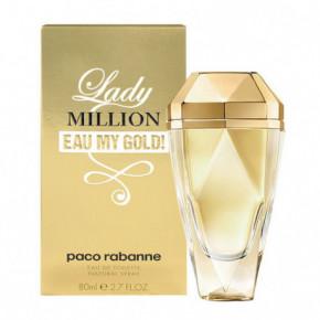 Paco Rabanne Lady Million Eau My Gold! Tualetinis vanduo moterims 80ml