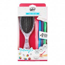 WetBrush Color Your Own Plaukų šepetys su flomasteriais