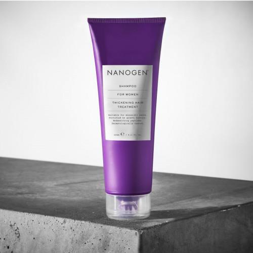 Nanogen Thickening Hair Treatment Plaukų apimtį didinantis šampūnas moterims 240ml