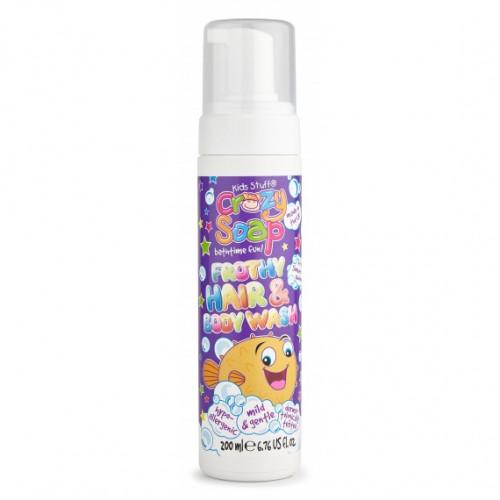 Kids Stuff Crazy Frothy Hair and Body Wash Šampūnas ir kūno prausiklis 200ml