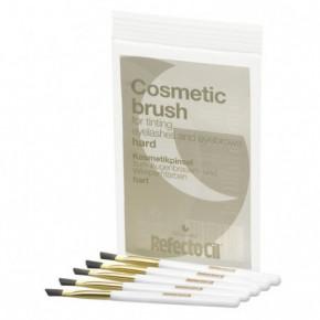 RefectoCil Cosmetic Brush Kosmetinis Šepetėlis, Kirstas, Kietų Šerelių 1vnt
