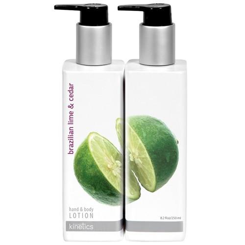 Kinetics Hand & Body Lotion Parfumuotas Losjonas Rankoms Ir Kūnui Su Brazilijos Laimu Ir Kedru 250ml