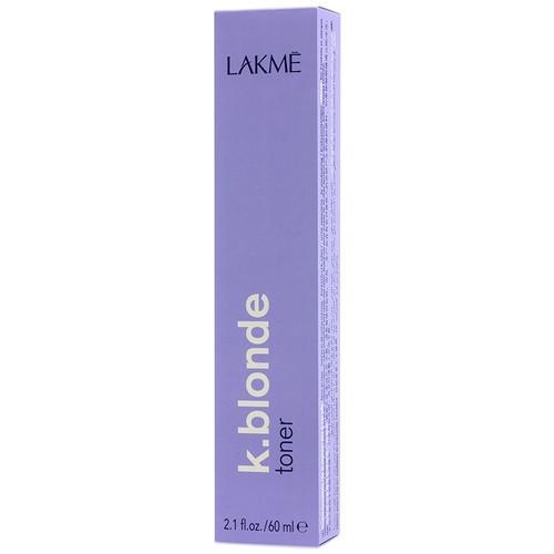 Lakme K.Blonde Toner Toneris Plaukų Geltonumo Neutralizavimui, Be Amoniako, Perlas 60ml