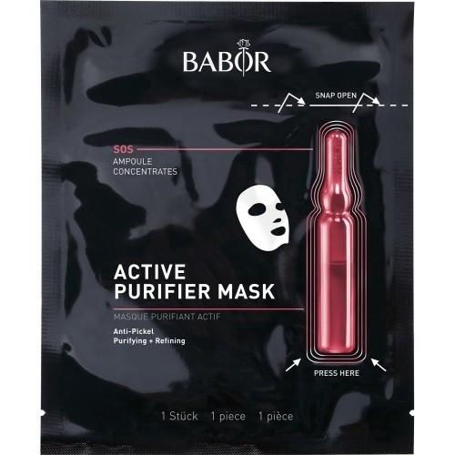 Babor Active Purifier Mask Valomoji, priešuždegiminė veido kaukė 1 vnt.