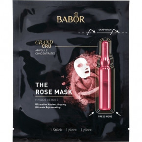 Babor Grand Cru The Rose Mask Karaliskās rozes ampulas maska 1vnt