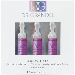 Dr. Grandel Beauty Date Aktyvaus koncentrato ampulės 3x3ml