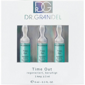 Dr. Grandel Time Out Aktyvaus koncentrato ampulės 3x3ml