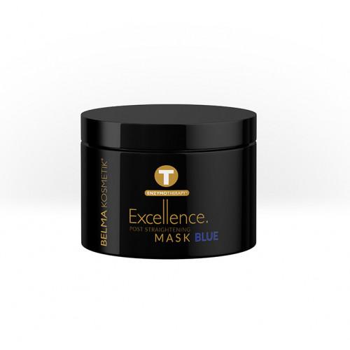 Belma Kosmetik Excellence Mask BLUE Geltonumą neutralizuojanti ir stipriai atstatanti kaukė 300ml