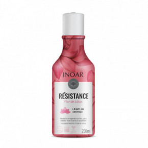 Inoar Resistance Flor de Lotus Leave-in Antifrizz nenuplaunamas kondicionierius 250ml
