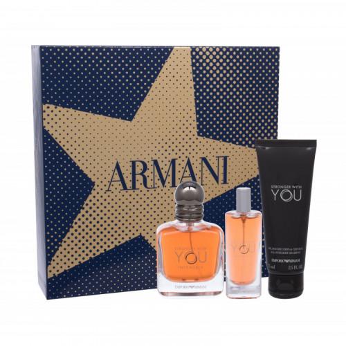 Giorgio Armani Emporio Armani Stronger With You Intensely Parfumuotas vanduo vyrams 30ml, Originali pakuote