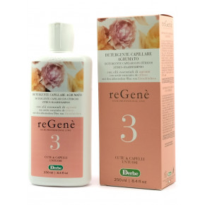 Regene Detergente Capillare Agrumato Shampoo for oily hair and scalp 250ml