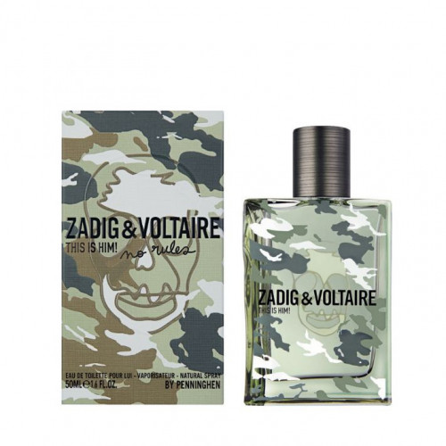 Zadig & Voltaire This is Him! Capsule Collection 2019 Tualetinis vanduo vyrams 100ml, Testeris