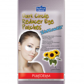 Dark Circle Reducer Eye Patches Sunflower Seed Oil Paakių kaukė mažinanti tamsius ratilus